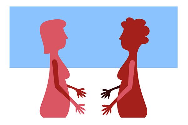 Illustration - Kvinnor med funktionsnedsättning