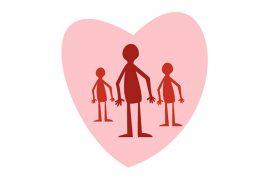 Illustration - Respekt för hem och familj